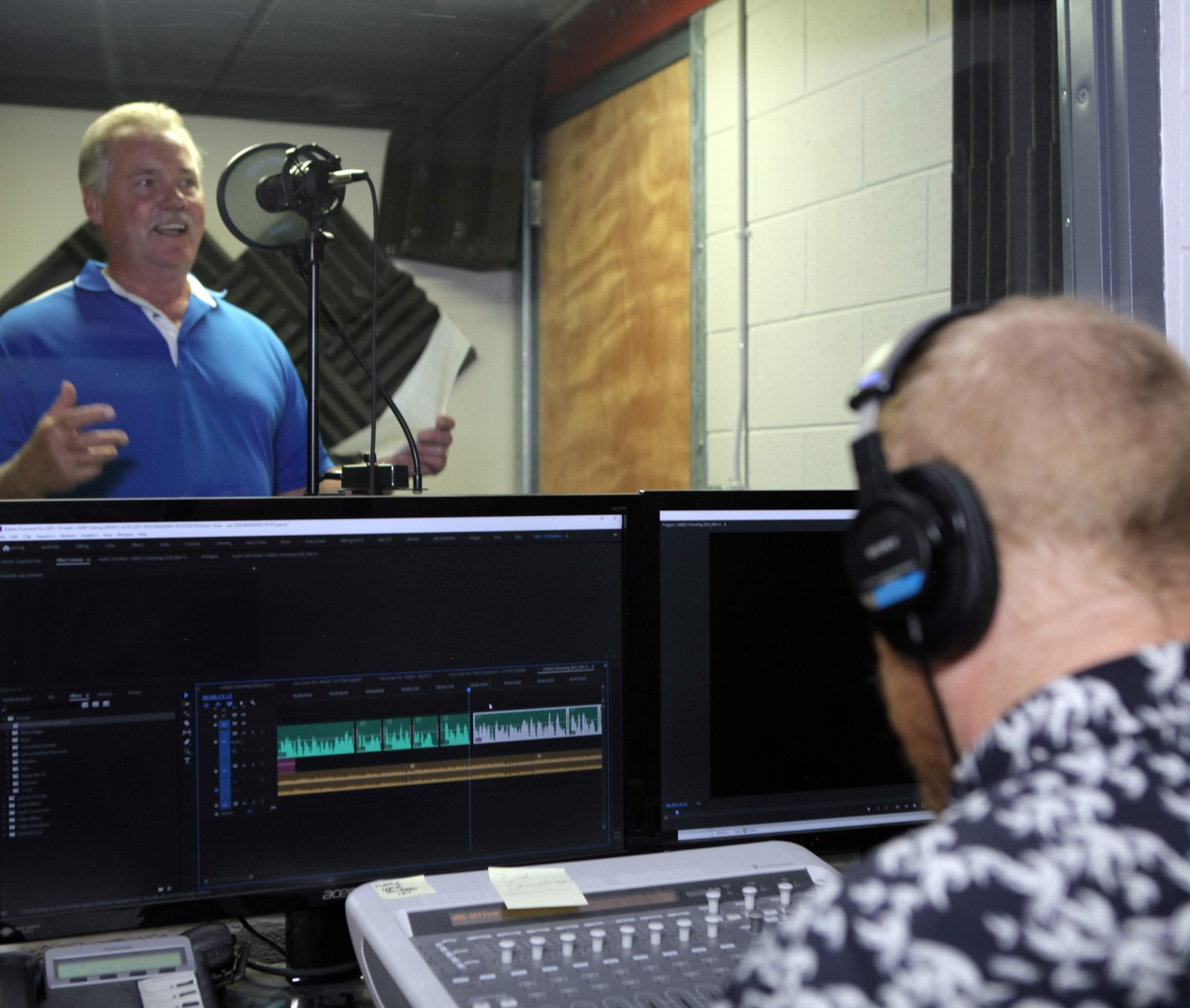 Market Vision Moments - Audio Booth