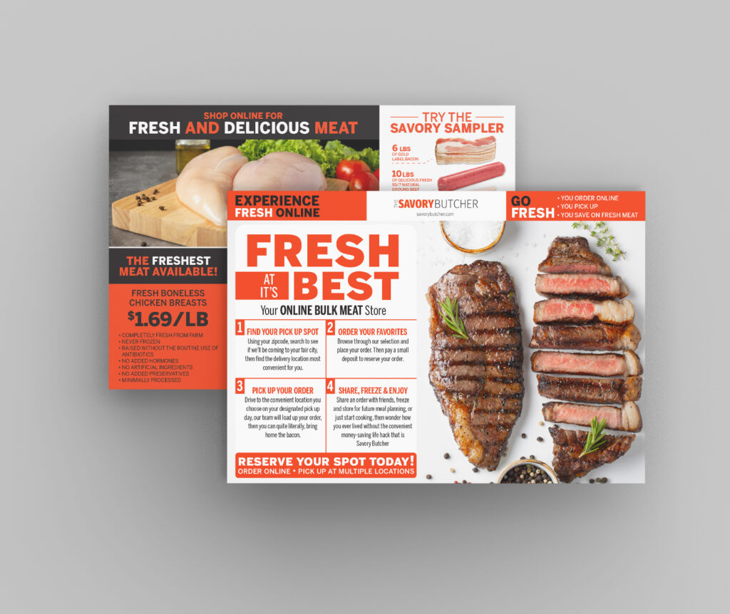 Print Design - Direct Mail & Flyers