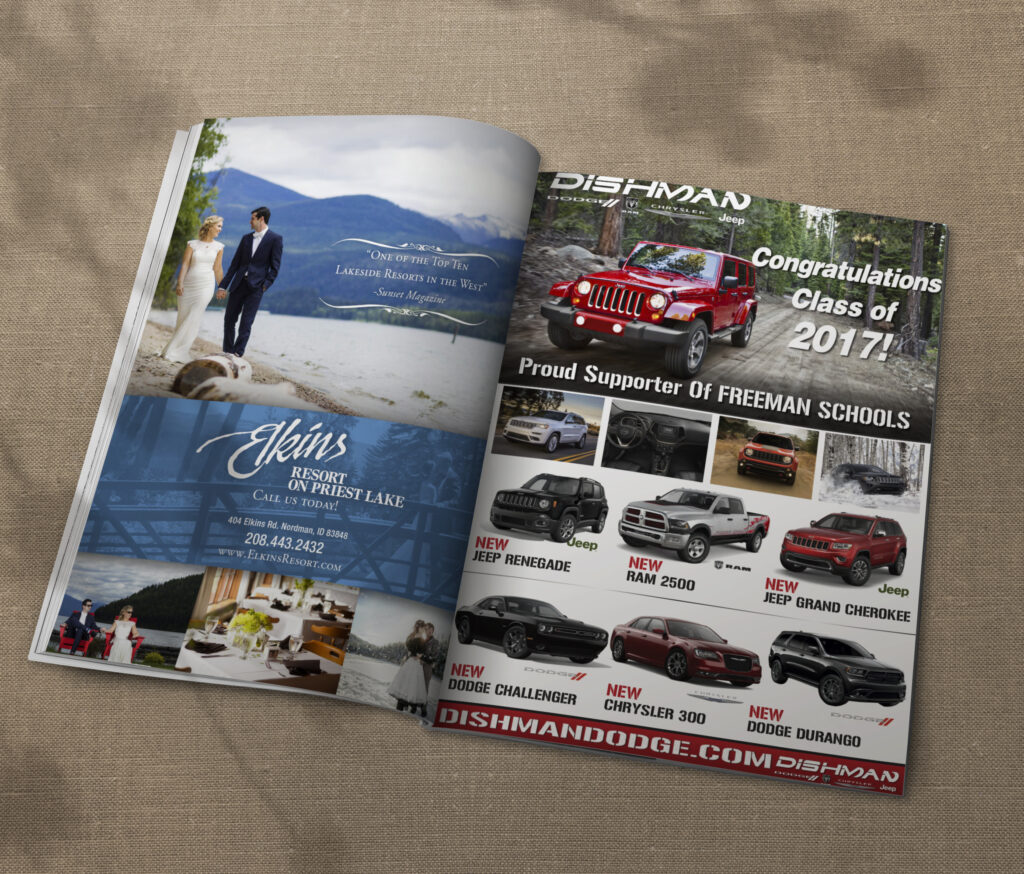 Print Design - Magazine Publication