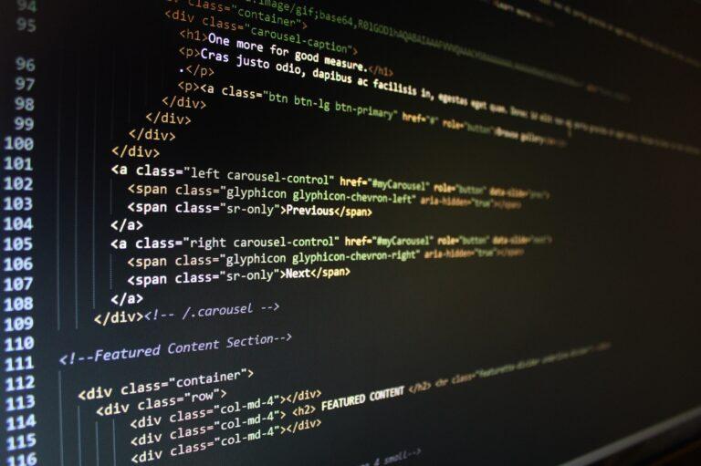Web Design & Development - Developer Code