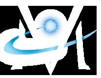 Market Vision Logo - White M